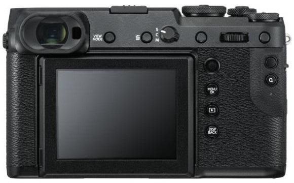 Fujifilm GFX 50R, zezadu