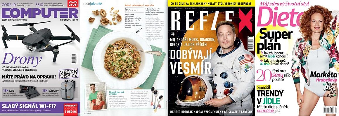 reflex; camputer; dieta; FOOD; časopisy