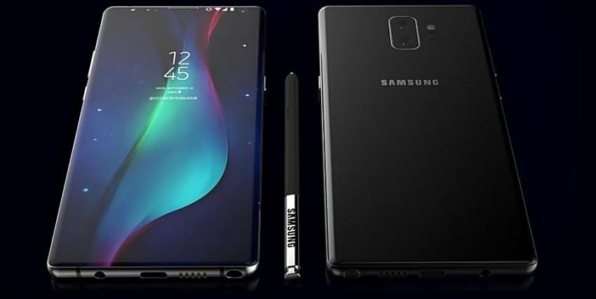 Potenciální Samsung Galaxy Note 9
