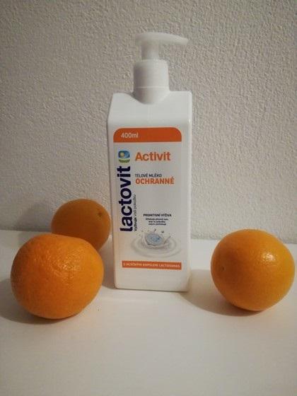 Tělové mléko LACTOVIT Activit