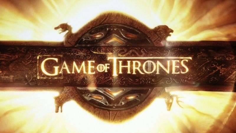 Game of Thrones; screenshot: logo