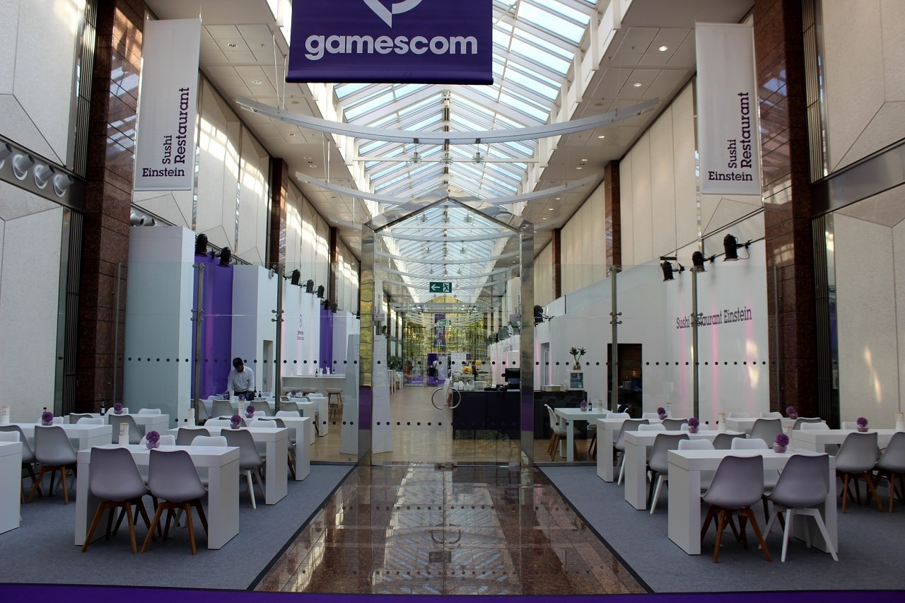 Gamescom 2018; Restaurace