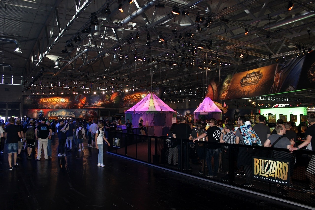 Gamescom 2018; Blizzard