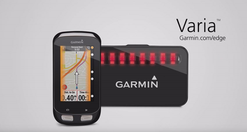 Cykloradar Garmin Varia sníží riziko dopravní nehody