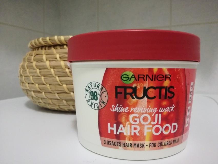 Maska na vlasy Garnier Fructis Goji Hair Food