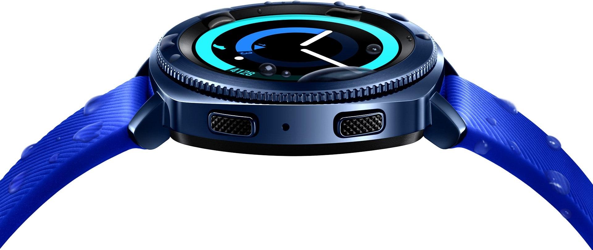 Samsung Gear Sport, otočná luneta