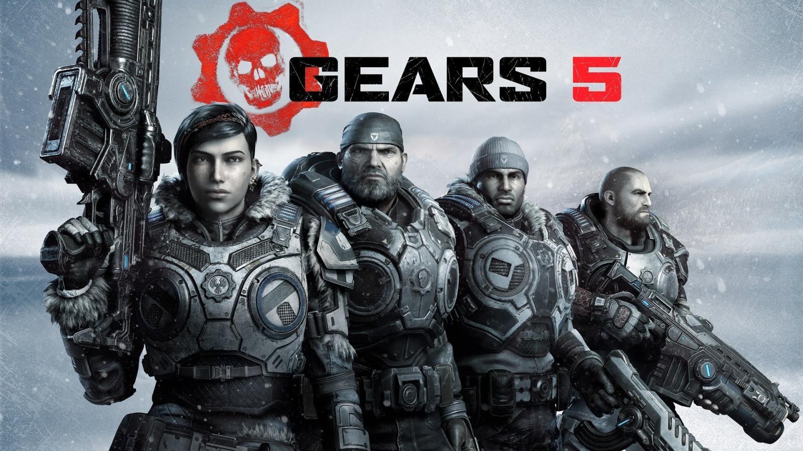 Gears 5; wallpaper: comando