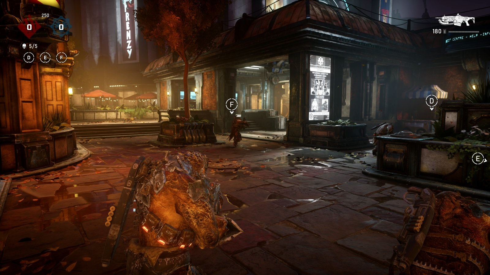 Gears 5; gameplay: District