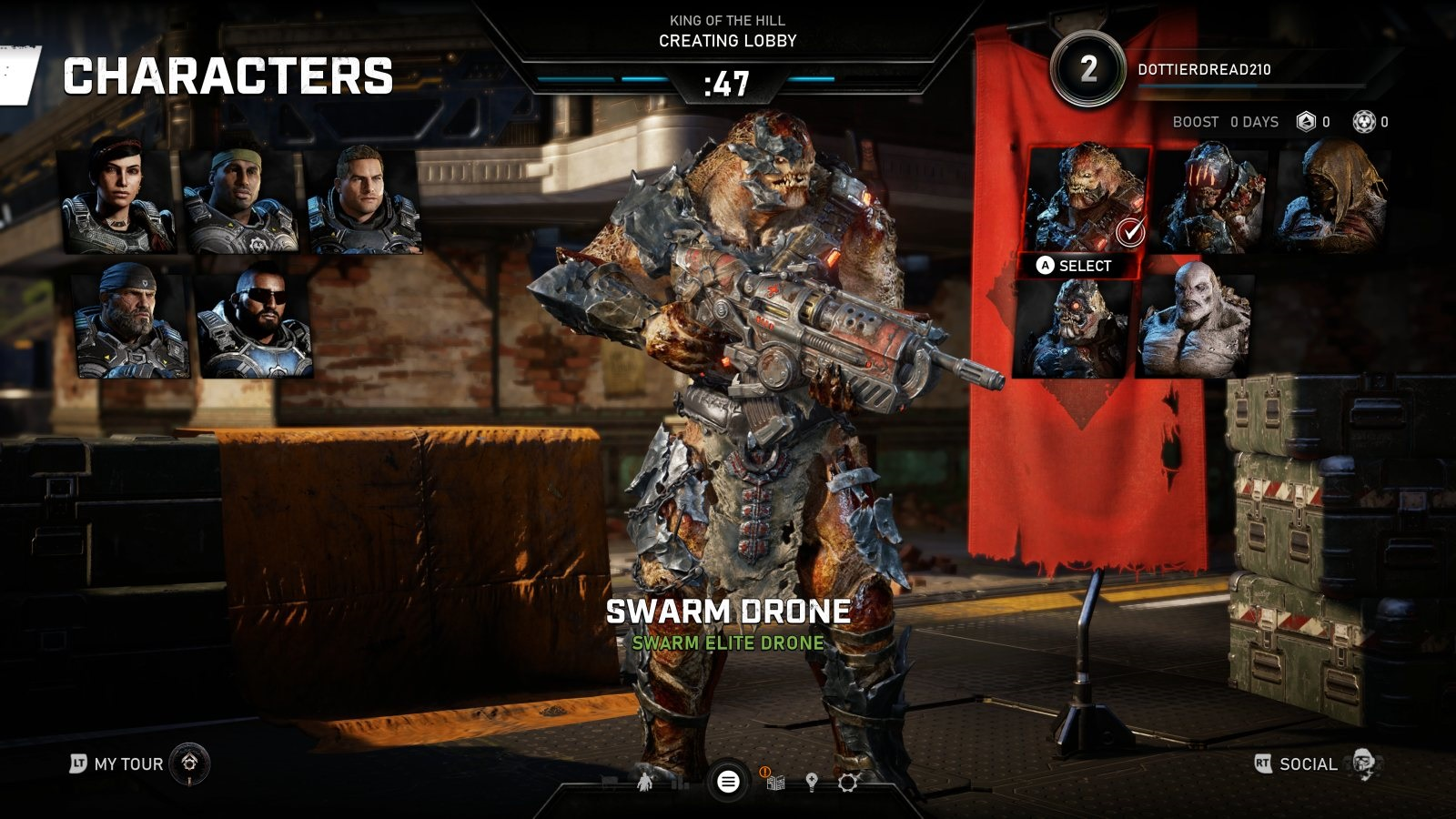 Gears 5; gameplay: drone