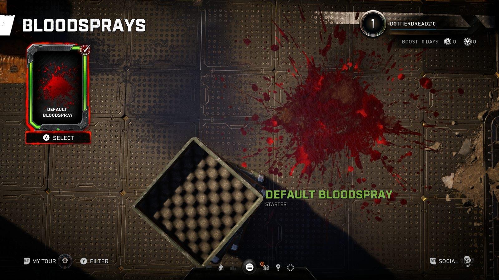 Gears 5; gameplay: kaluž krve
