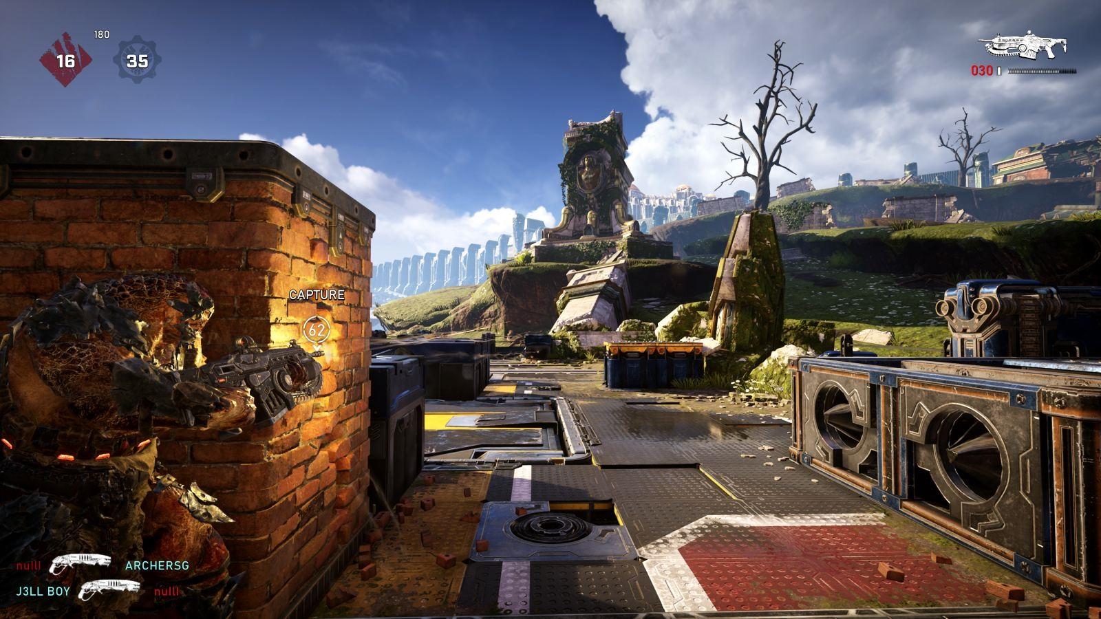 Gears 5; gameplay: střelba z krytu