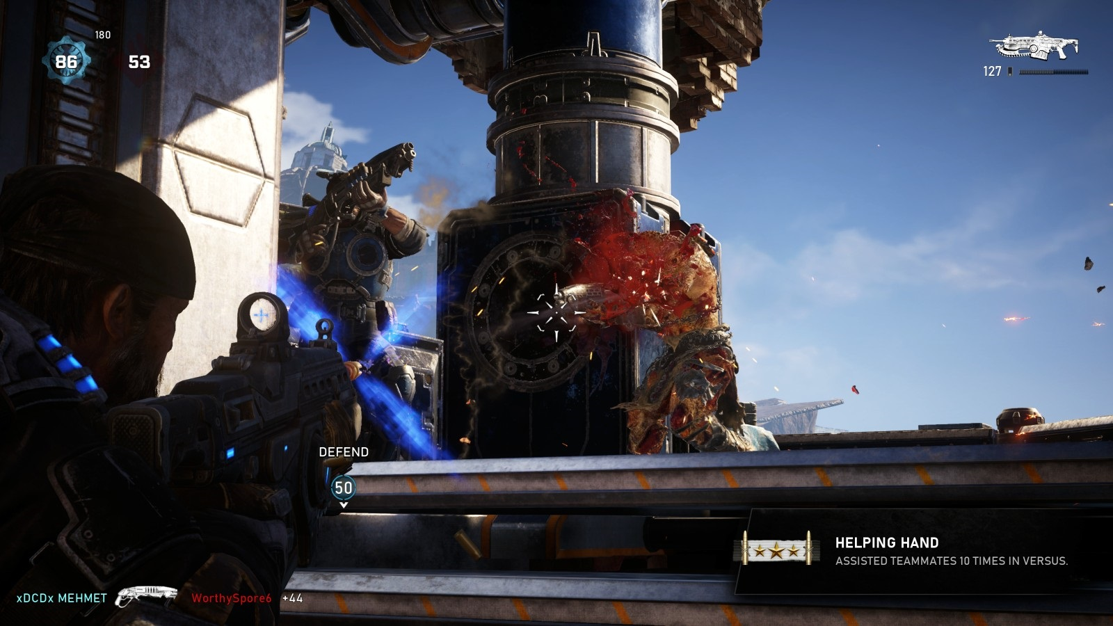 Gears 5; gameplay: střelba