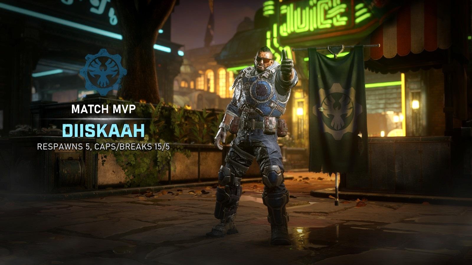 Gears 5; gameplay: swarm cog voják