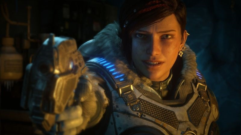 Gears 5; wallpaper: hrdinka