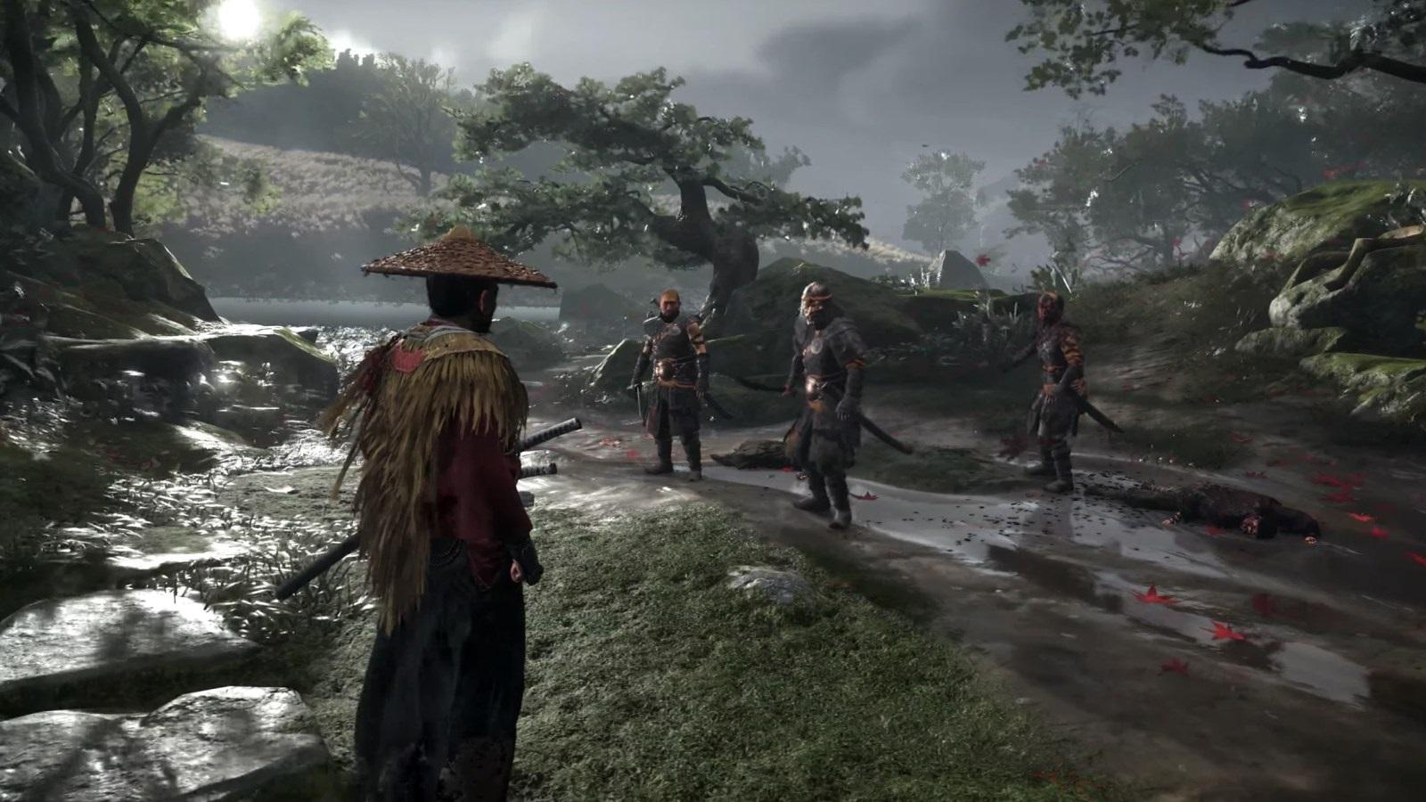 PlayStation 5; screenshot: Ghost of Tsushima