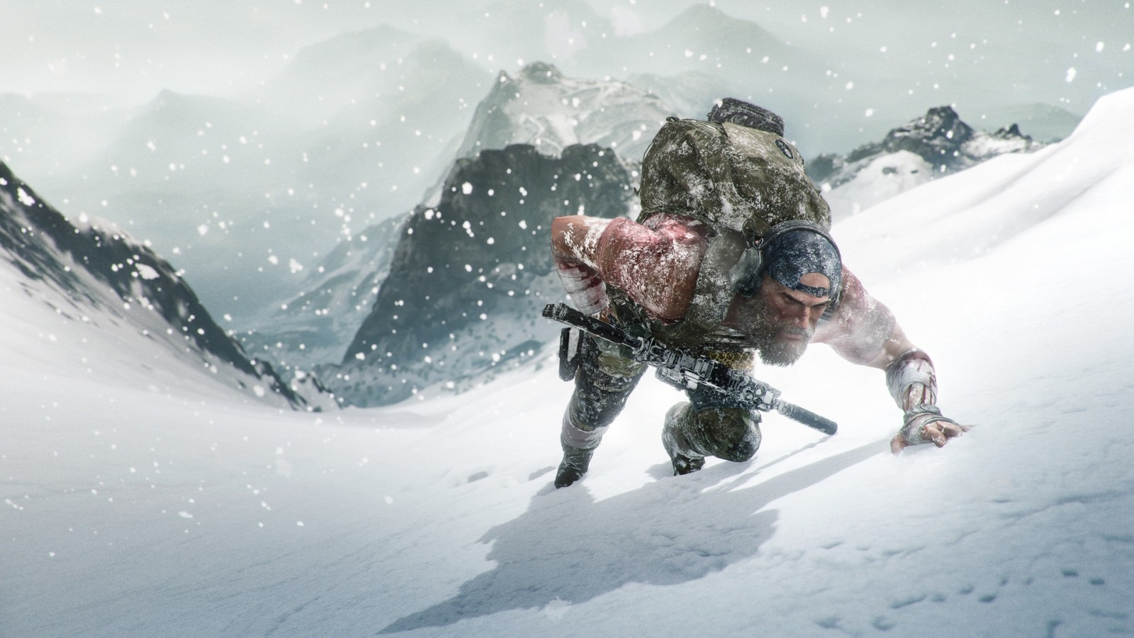Ghost Recon Breakpoint; wallpaper: cover, horolezec