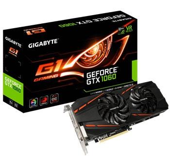 Gigabyte GTX 1060 G1 Gaming 6G