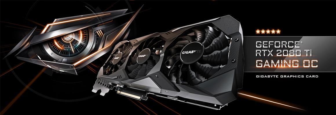 Gigabyte RTX 2080 Ti Gaming OC 11G recenze a testy
