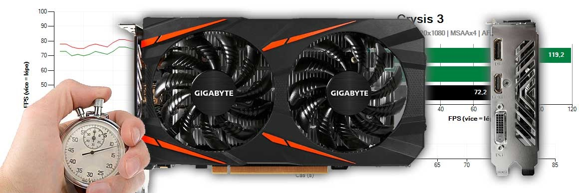 Gigabyte RX 560 Gaming OC 4G recenze a testy