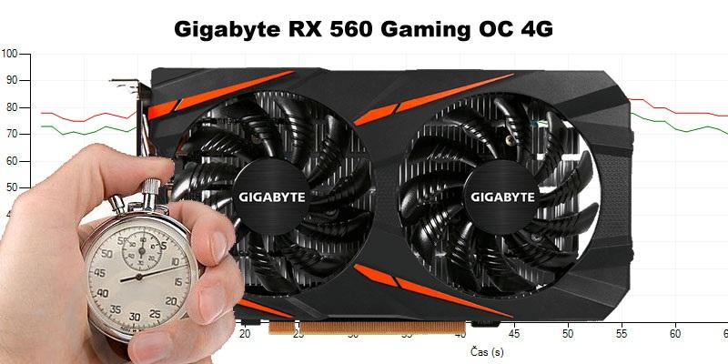 Gigabyte RX 560 Gaming OC 4G (RECENZE A TESTY)