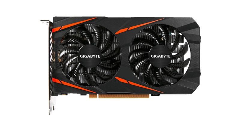 Gigabyte RX 560 Gaming OC 4G v testech