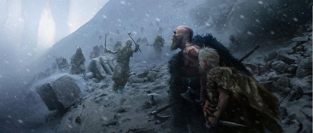 God of War; Kratos a Atreus