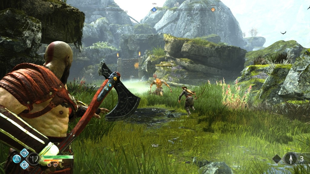 God of War; Gameplay: boj