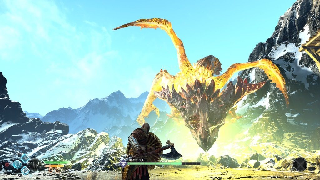God of War; Gameplay: boss