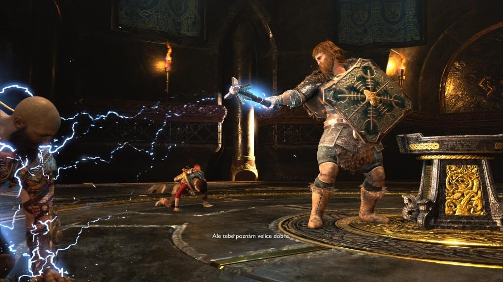 God of War; Gameplay: bůh