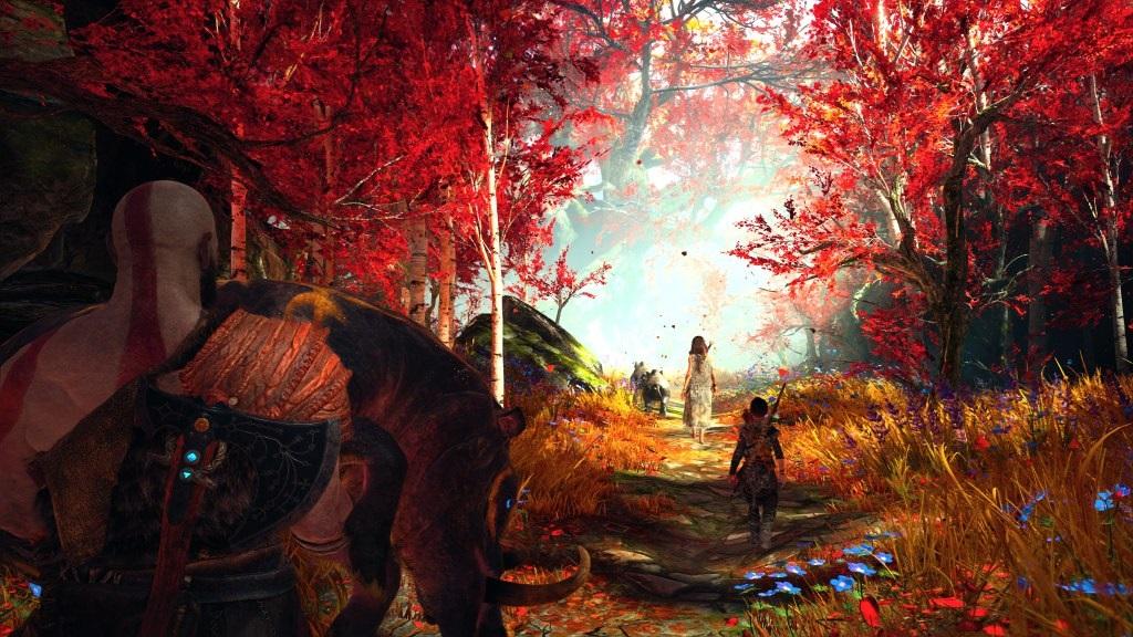 God of War; Gameplay: čarodějka