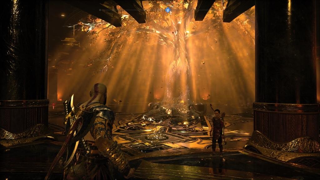 God of War; Gameplay: cestování mezi světy