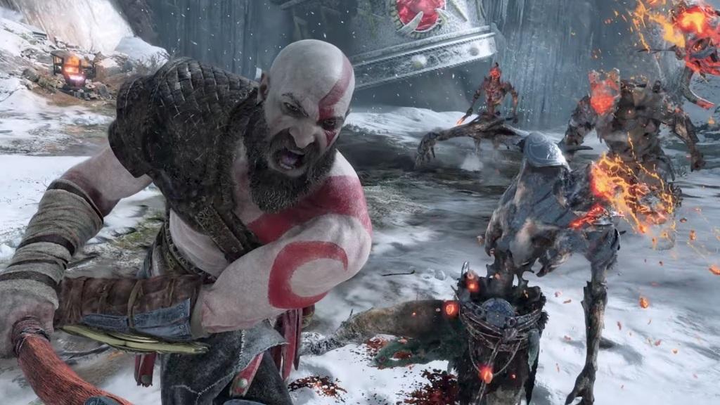 Nejlepší hry; God of War; screenshot: fotografický režim