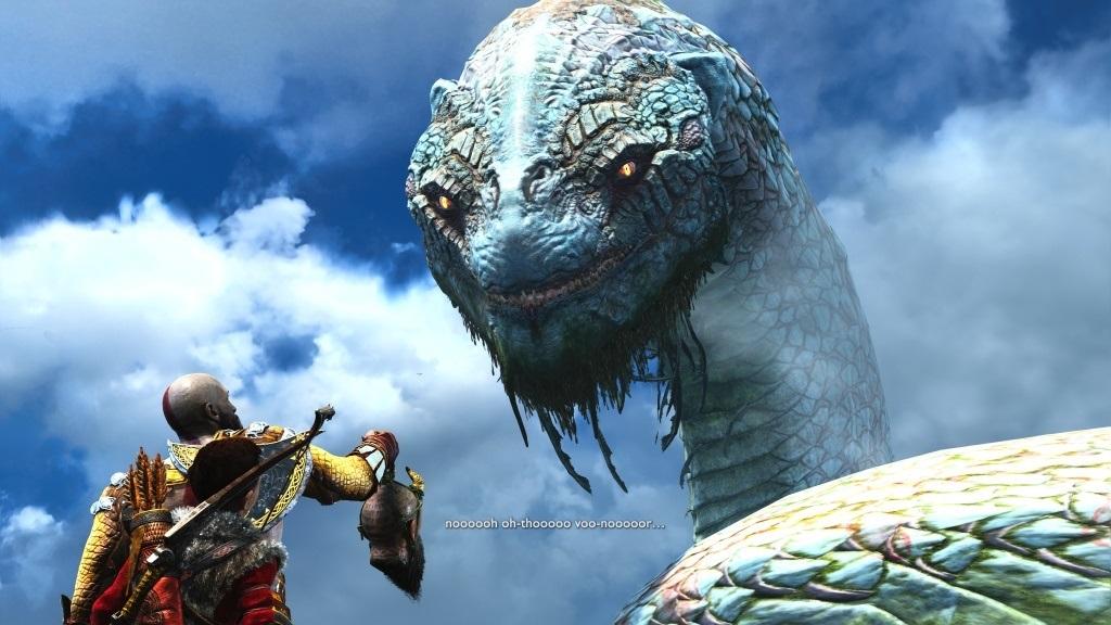 God of War; screenshot: had světa