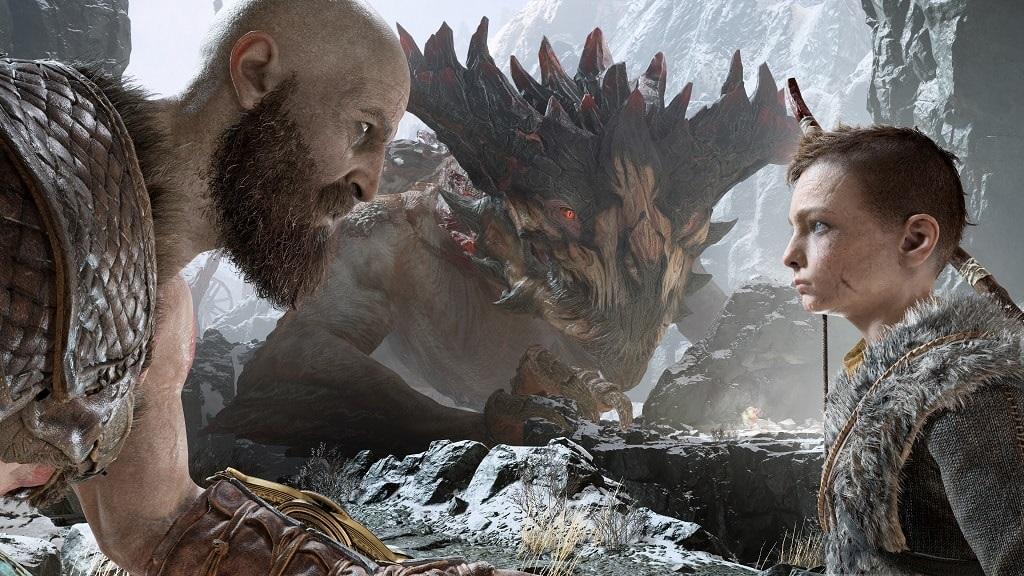 God of War; Kratos, Atreus, konverzace