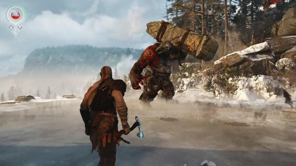 God of War; Gameplay: souboj, monstrum, Kratos