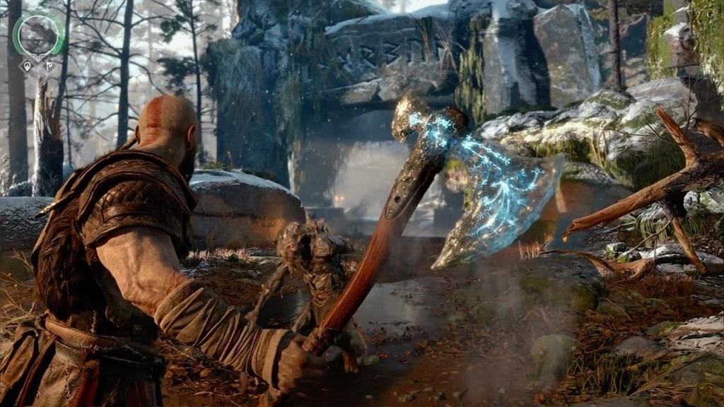God of War; Kratos, Axe, Leviathan