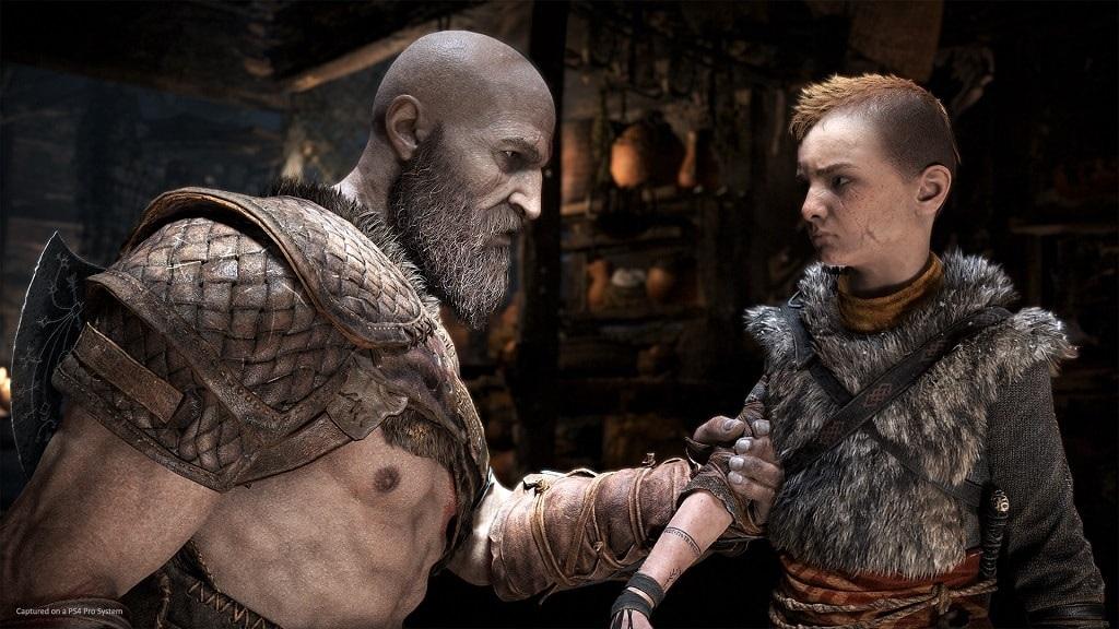 God of War; Atreus a Kratos