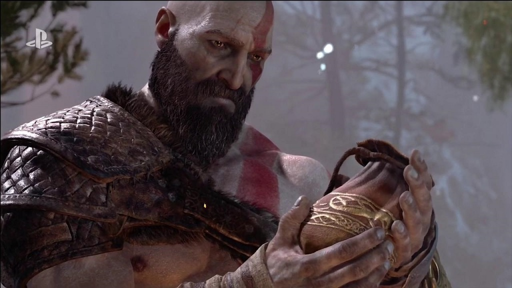 God of War; Kratos a syn