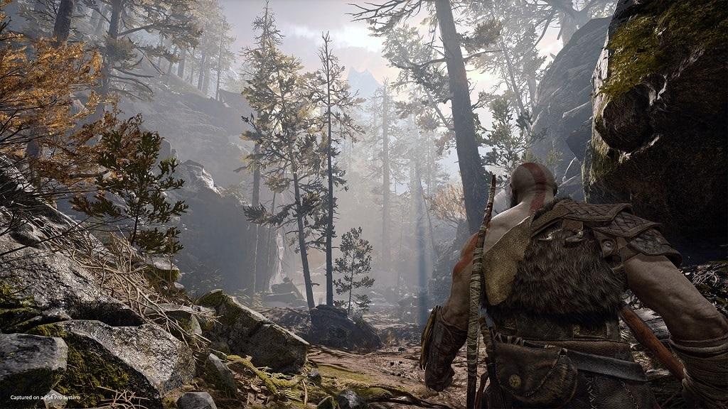 God of War; Gameplay: landscape, grafika