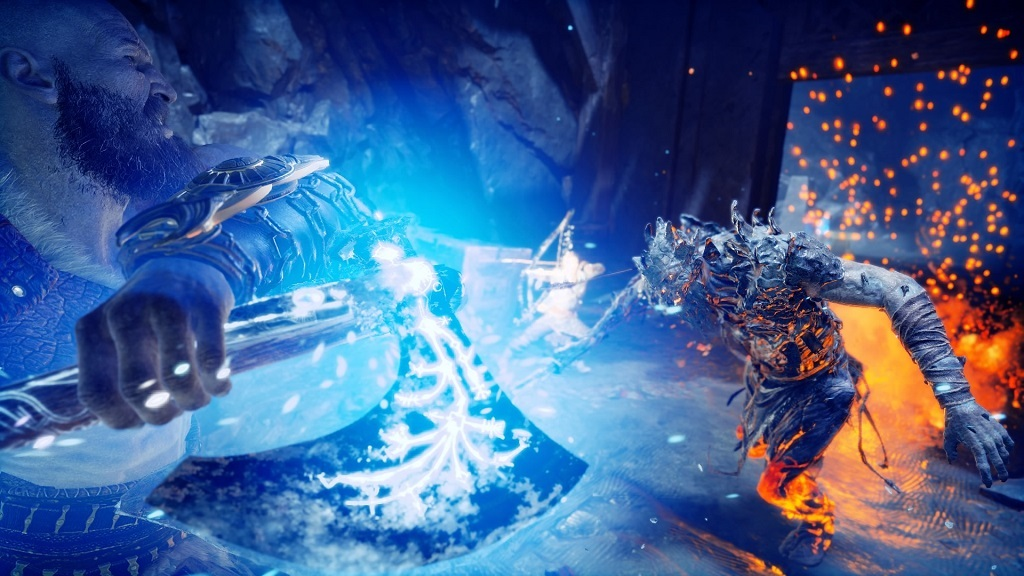God of War; photo mod, Leviathan