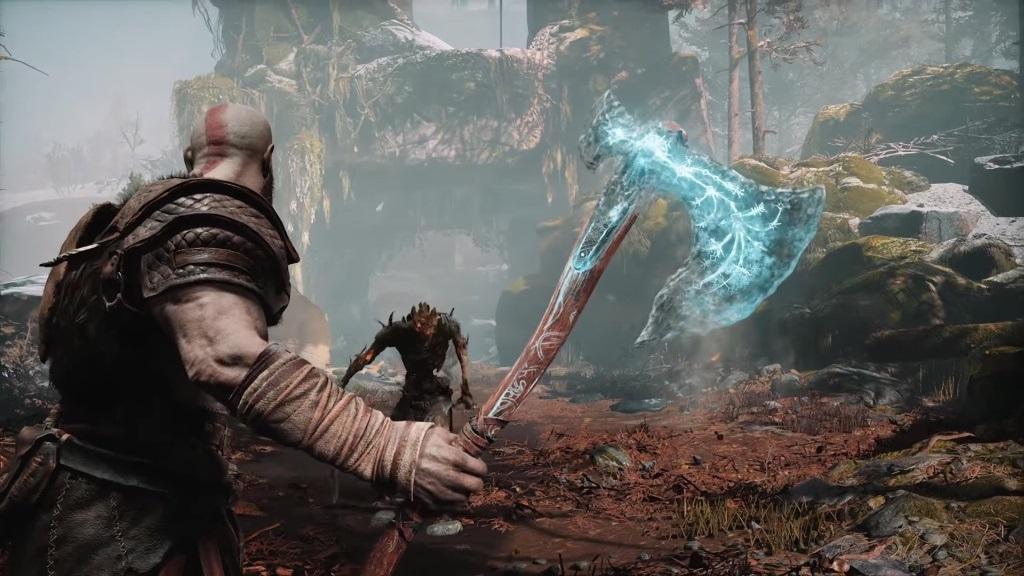 Nejlepší hry; God of War; screenshot: Leviathan