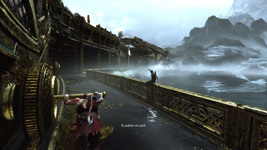 God of War; Gameplay: most k bifrostu