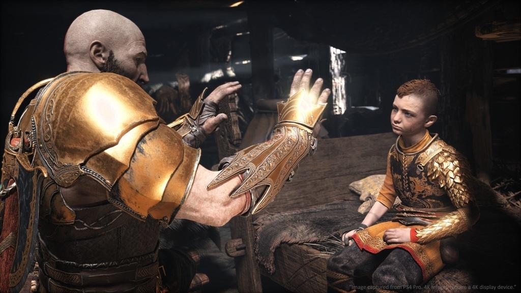God of War; screenshot: new game +