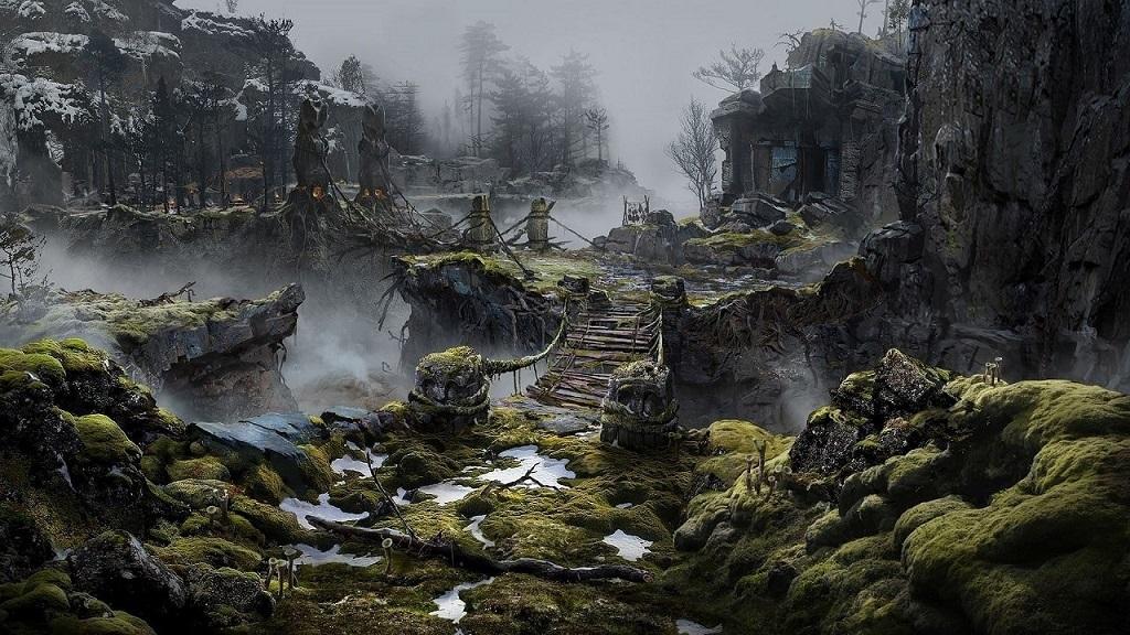 God of War; North, Bridge