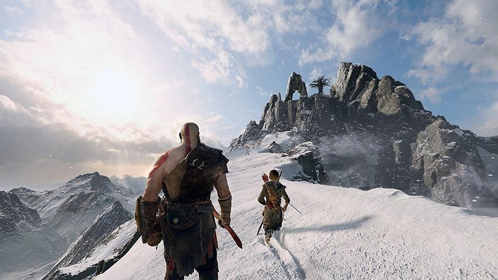 God of War; mountains