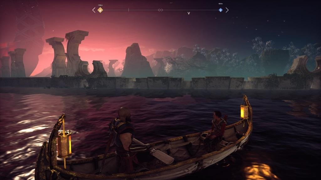 God of War; Gameplay: plavba