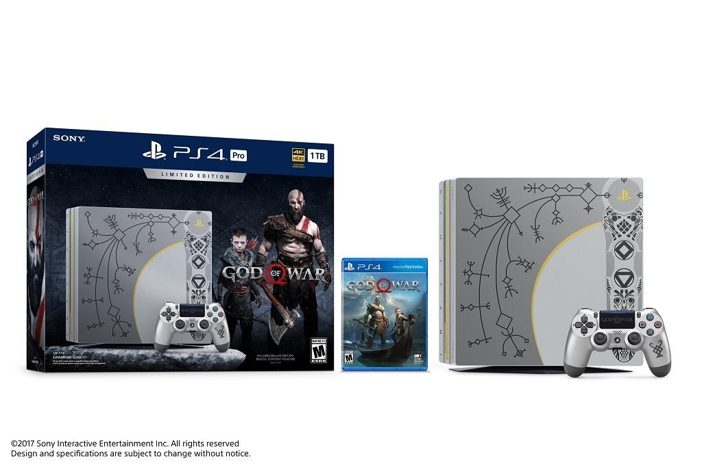 God of War; PS4 Pro Bundle