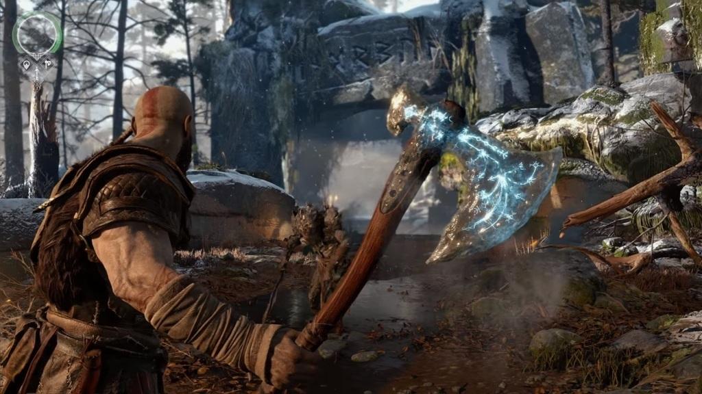 God of War; screenshot: sekera, ruiny