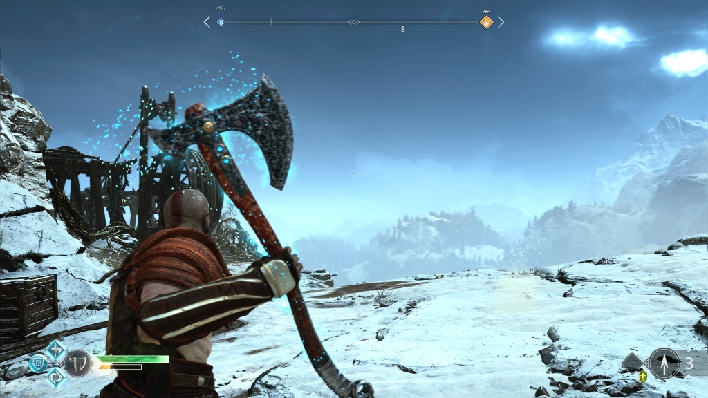 God of War; Gameplay: sekyra