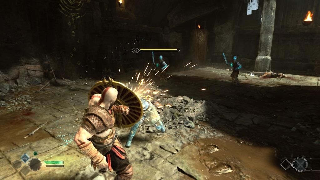 God of War; Gameplay: souboj